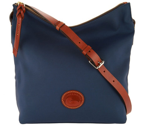 """As Is"" Dooney & Bourke Nylon Small Dixon Crossbody"