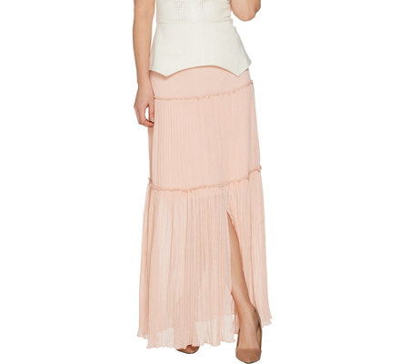 G I L I Regular Woven Maxi Skirt