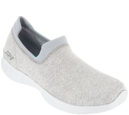 YOU by Skechers Knit Slip On Shoes - Perfection