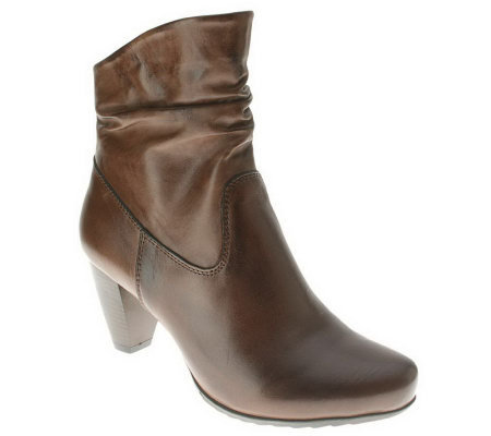 Spring Step Trance Leather Ankle Boots