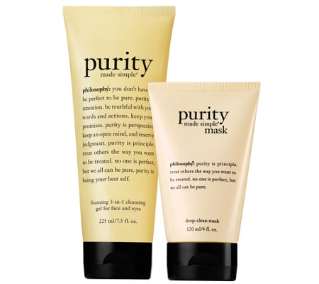 philosophy purity deep clean set