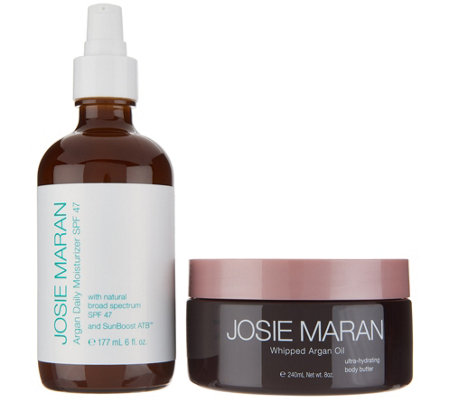Josie Maran Super-Size Anti-Aging Argan Daily Hydration Duo