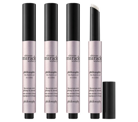philosophy ultimate miracle worker fix lip serum 4-piece kit