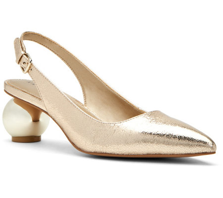 Katy Perry Metallic Slingback Pumps - The Adora