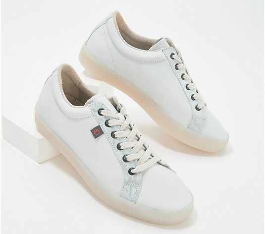 Softinos by FLY London Lace-Up Sneakers - Sury