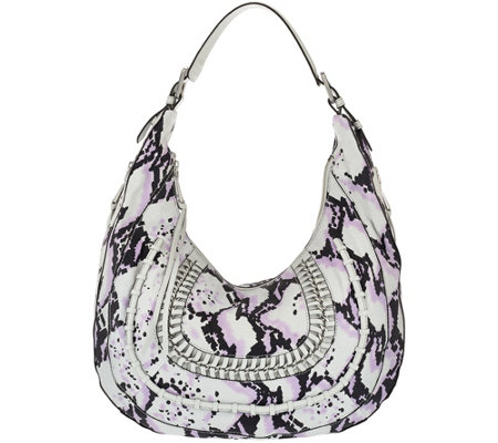 """As Is"" Aimee Kestenberg Pebble Leather Hobo - Genny"