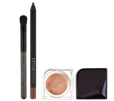 Fiona Stiles Eye Veil w/ Ultra Smooth Liner & Brush