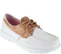 Skechers On-the-GO Boat Shoes with Goga Mat - Seaside - A287178