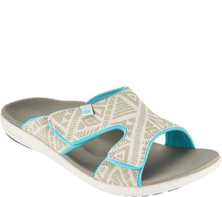 Spenco Orthotic Slide Sandals - Kholo Tribal