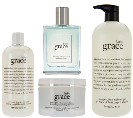 philosophy baby grace 4-piece fragrance Set Auto-Delivery