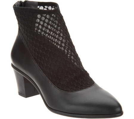 Lori Goldstein Collection Bootie with Sock Detail