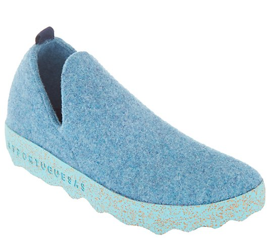 Asportuguesas by Fly London Boiled Wool Slip-on Shoes