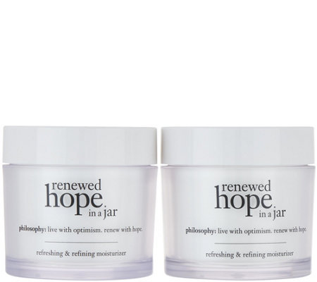 Philosophy Super Size Renewed Hope Moisturizer Duo Auto Delivery