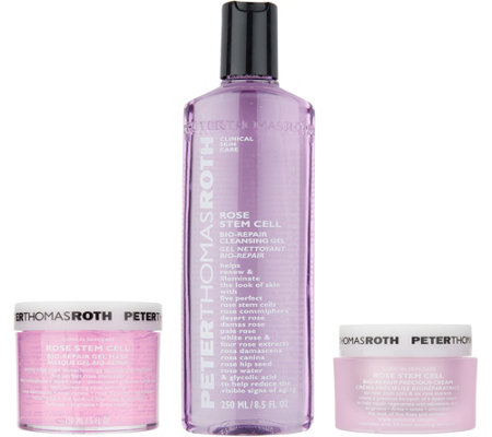 Peter Thomas Roth Rose Stem Cell 3-Piece Treat & Cleanse Kit