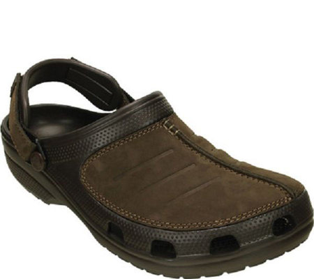 Crocs Men's Leather Clogs - Yukon Mesa