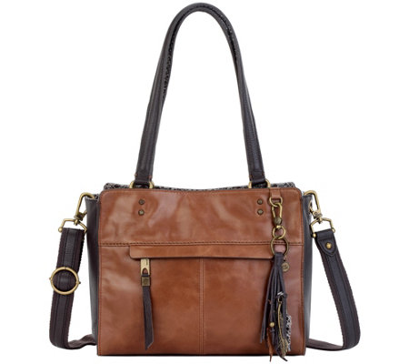 The Sak Alameda Iii Leather Satchel Handbag