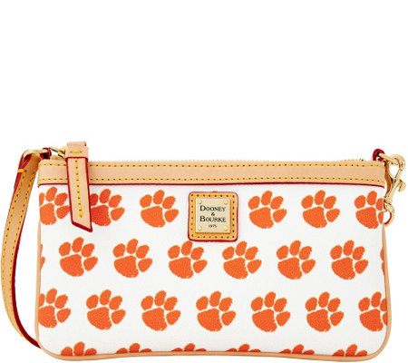 Dooney & Bourke NCAA Clemson University Slim Wristlet