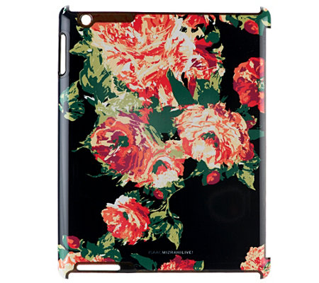 """As Is"" Isaac Mizrahi Live! Choice of Print iPad Case"