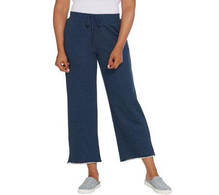 LOGO Lounge by Lori Goldstein Classic French Terry Pull-On Pant