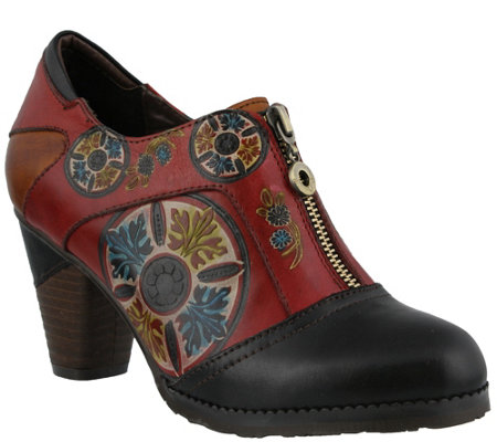 Spring Step L Artiste Leather Shooties Raina