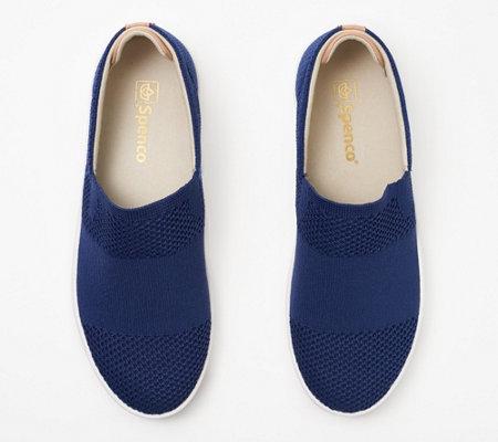 Spenco Orthotic Knit Mesh Slip On Shoes Bahama