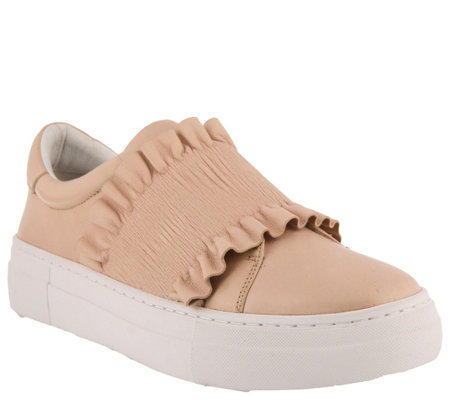 Azura by Spring Step Leather Slip-on Sneakers -Cinch