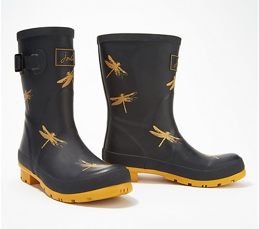 """As Is"" Joules Mid Rain Boots- Molly Welly"
