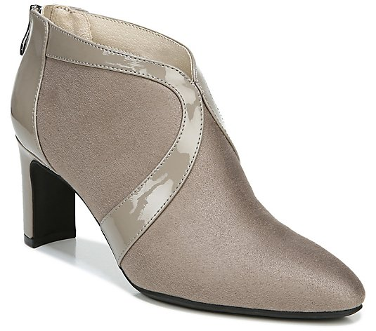 Lifestride Back Zip Booties - Glamour