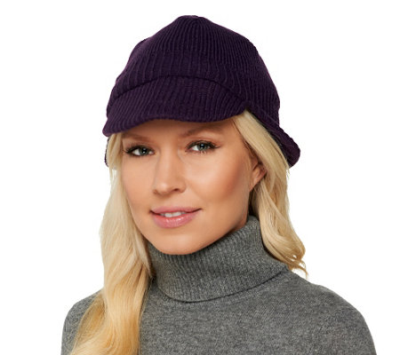 Due North Wind Resistant Knit Cap with Ear Flaps