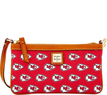 Dooney & Bourke NFL Chiefs Large Slim Wristlet