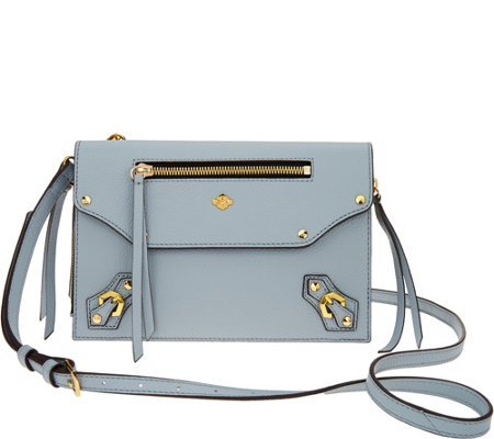 orYANy Pebble Leather Crossbody- Zaria
