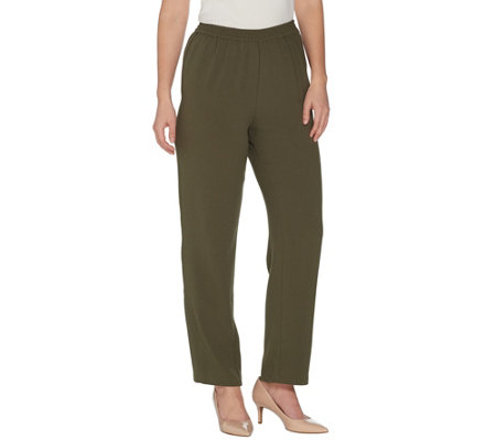 Linea By Louis Dell Olio Petite Gauze Crepe Pull On Pants