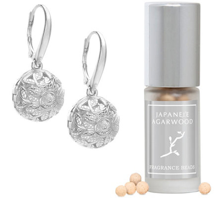 Lisa Hoffman Sterling Silver Flora Fragrance Earrings