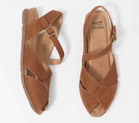 Earth Origins Leather Sandals - Palomas Percy