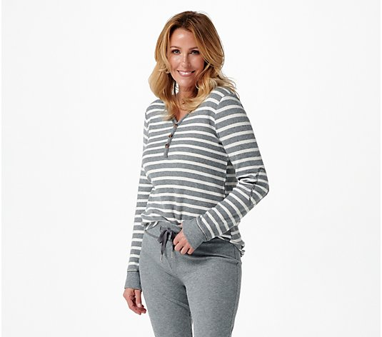 Koolaburra by UGG Cozy Thermal Henley & Jogger PJ Set