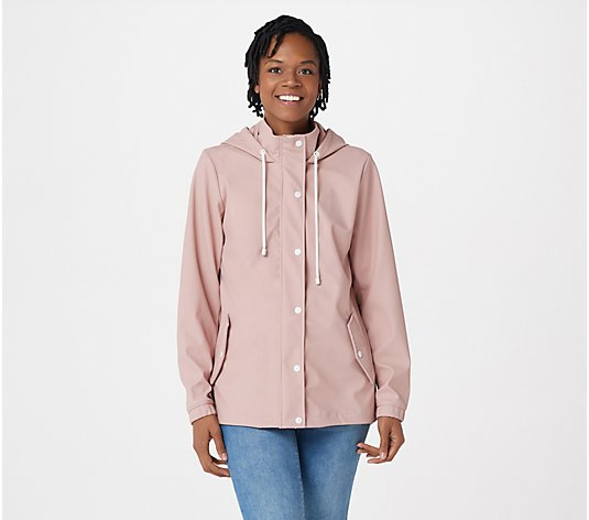 Centigrade Water-Repellent Matte Raincoat