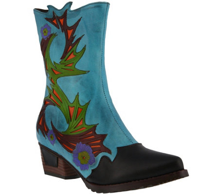 L'Artiste by Spring Step Leather Boot - Chikie