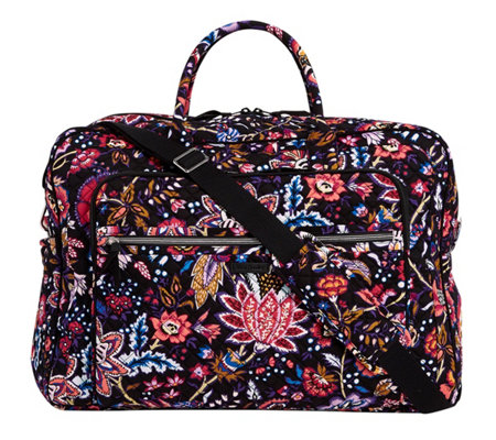 Vera Bradley Signature Iconic Grand Weekender Travel Bag - Page 1 ... ab25a9545e