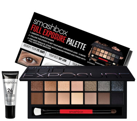 Smashbox Full Exposure Palette With 24 Hour Shadow Primer