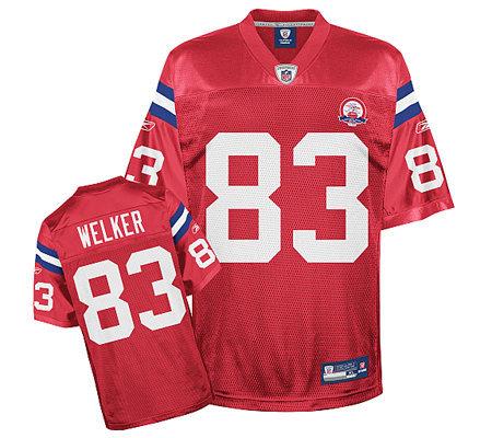 432dc8bb5 NFL New England Patriots AFL 50th Anniv. Wes Welker Jersey — QVC.com