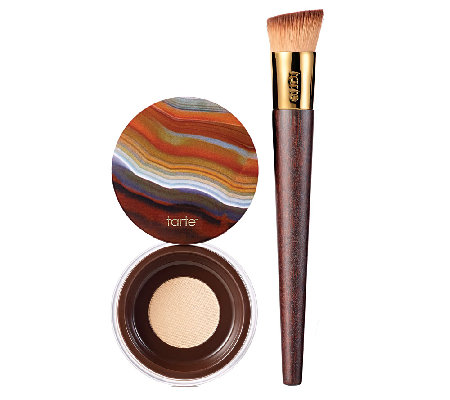 tarte Colored Clay SPF 15 Liquid Foundation with Brush