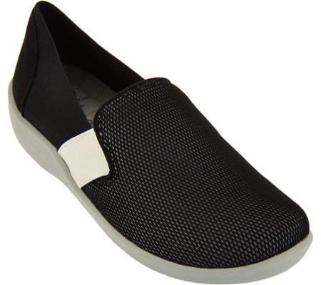 CLOUDSTEPPERS by Clarks Mesh Slip-on Shoes - Sillian Oak