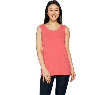 Belle by Kim Gravel Essentials Scoop Neck Tank Top
