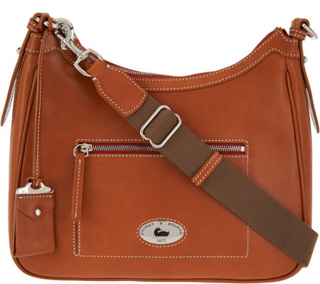 """As Is"" Dooney & Bourke Florentine Toscana Large Crossbody Hobo"