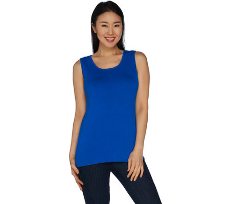 Belle by Kim Gravel Ribbed Tank