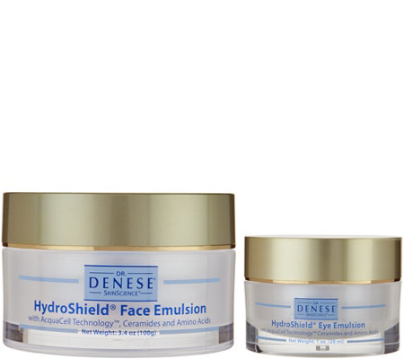 Dr. Denese Hydroshield Face & Eye Emulsion 2-Piece Set