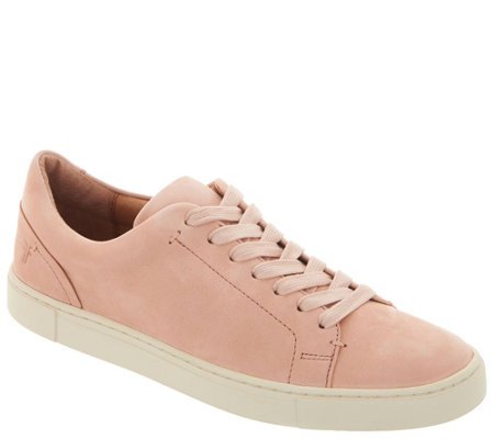 Frye Leather Lace Up Sneakers - Ivy Low Lace