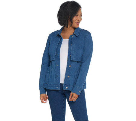 Women with Control My Wonder Denim Overlay Jacket