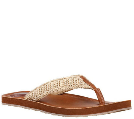 Sakroots Flip Flop Thong Sandals - Sheena