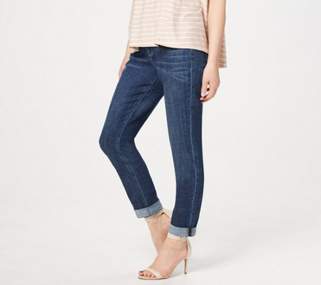 Laurie Felt Regular Classic Denim Boyfriend Jeans